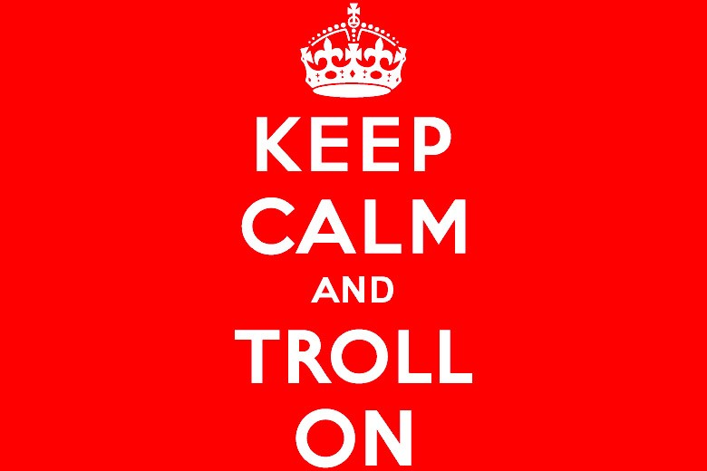 Keep Calm And Troll