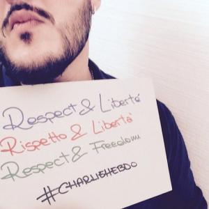 #18di365 #barba #beardy #BILF #beardporn #beardlife #beardstagram #beardlove #respect #libertè #rispetto #libertà #freedom #charliehebdo