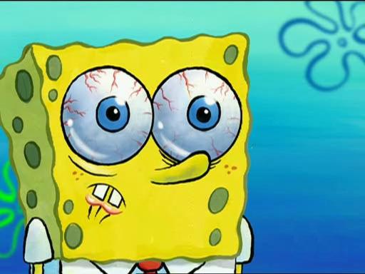 spongebob-scandalizzato